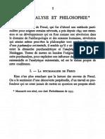 Hyppolite - Psychanalyse Et Philosophie (1955)