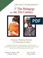 21 century pedagogy