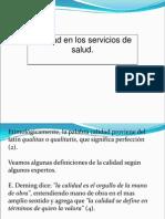 Calidad-Barreras Medico-Paciente