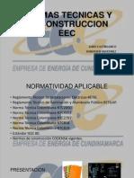 Normas Tecnicas y de Construccion Eec