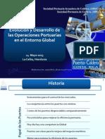 Evolucion y Desarrollo de Las Operaciones Portuarias en El Entorno Global