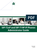 Yealink SIP-T2xP and SIP-T19P IP Phone Family Administrator Guide V72 25