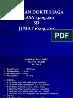 Laporan Jaga 16092011