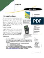 math 11pc course outline 2015