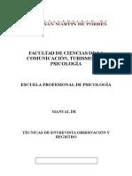 Manual - Tecnicas de Entrevista Observacion y Registro