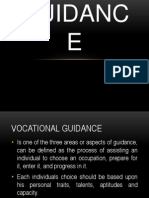 Vocational Guidance