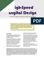 High Speed Digital Design Overview