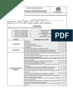 3ec-Fr-0005 Formato de Evaluacion Para Eventos Virtuales de Capacitacion Del Plan Anual de Educacion Continua
