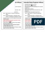 Standar Operasi LCD Infocus