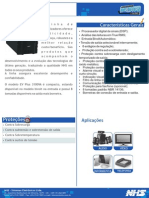 Catalogo Estabilizador EV Plus DSP 3100VA - R00