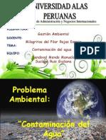 Contaminacion Del h2o