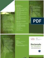 Brochure Doctorado