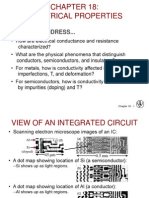 Callister Chapter 18 Electrical Properties