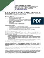 Acte Necesare Obtinere Drept Semnatura Martie 2014