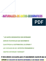 1 Naturaleza de Datos