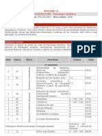 Cronograma de Planejamento Psicologia Analítica - 2009 - Morumbi II