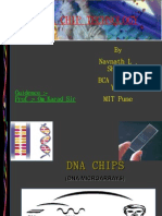 Final Presentation of DNA Chip