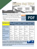 Newsletter Broadsheet 2014 Sep7