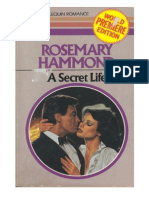 159266118 a Secret Life Rosemary Hammond PDF