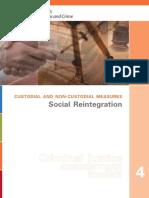 Custodial and Non Custodial Measures Social_Reintegration