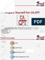 Prepare Yourself For CA-CPT Exam