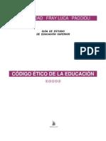 Version Buena Unidad 1 Código Ético de La Educación