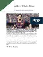 FIFA 15 Trailer 10 Major Things Revealed - GameBasin.com