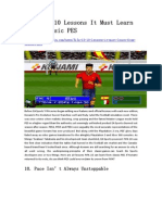 FIFA 15 10 Lessons It Must Learn From Classic PES - GameBasin.com