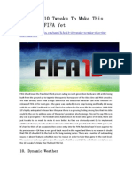 FIFA 15 10 Tweaks to Make This the Best FIFA Yet - GameBasin.com