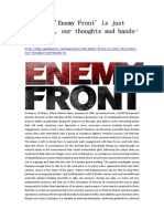 Preview 'Enemy Front' is Just Days Away, Our Thoughts and Hands-On - GameBasin.com