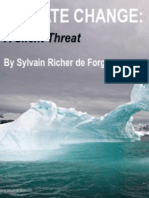 Climate Change a Silent Threat by Sylvain Richer de Forges