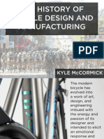 History of Bicycle Design and Manufacturing