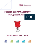 APM Risk SIG View From the Chair - Complete Manuscript