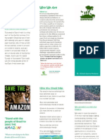 green peace brochure