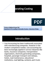Operating Costing Presentation