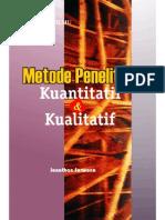 Metode Penelittian Kuantitatif Dan Kualitatif