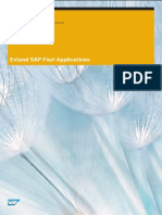 Extend SAP Fiori Applications