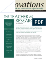 THE TEACHER AS RESEARCHER