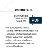 Flow Assurance Solids