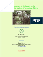 Campus Biodiversity Report