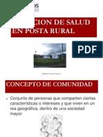 Atencion de Salud en Posta Rural