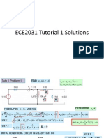 ECE2031 Tutorial 1 Solutions