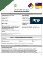 MSDS Benzalkonium Chloride