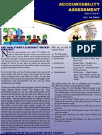 Pidgin Accountability Newsletter