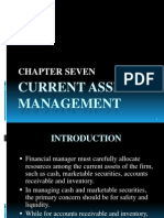 Chapter 7 - Current Asset Management