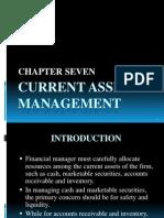 Chapter 7 - Current Asset Management