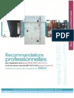 Recommandations Professionnelles en 1992-1-1