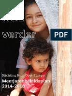 Meerjarenbeleidsplan 2014-2018 van Stichting Hulp Oost-Europa