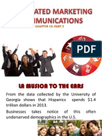 Chapter 13 Integrated Marketing Communications Part 2