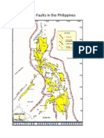 Map of Active Faults in the Philippines
